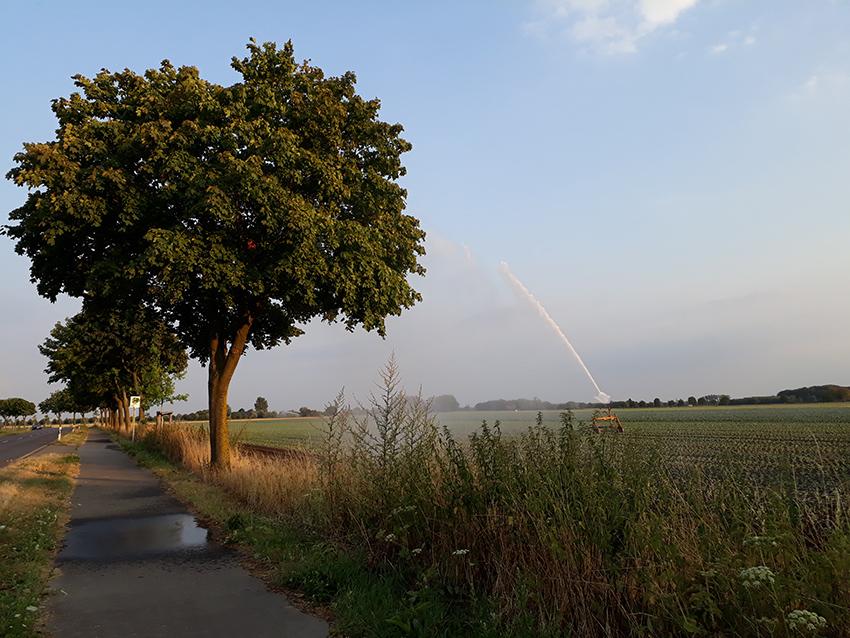 Beregnung - Sommer - Stoffers - Gemuesebau - Krefeld